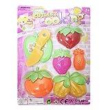 TY Play House Fruit Dinnerware Set for Kids