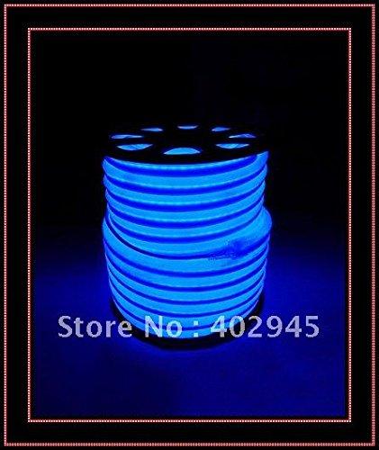 Led Neon Flex Blue Led Soft Neon Light Led Flexible Neon Strip Led Neon Rope Lights 240V Dhl Express Shipping Knl