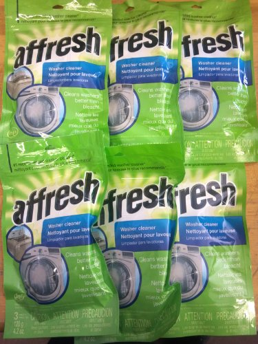 Whirlpool - Affresh High Efficiency Washer Cleaner, 18-Tablets (6-Pack) front-606351