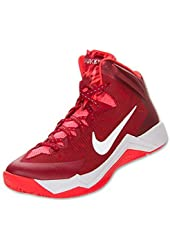 Nike Zoom Hyperquickness Men's Basketball Shoes Size US 10 Red / White Style ...