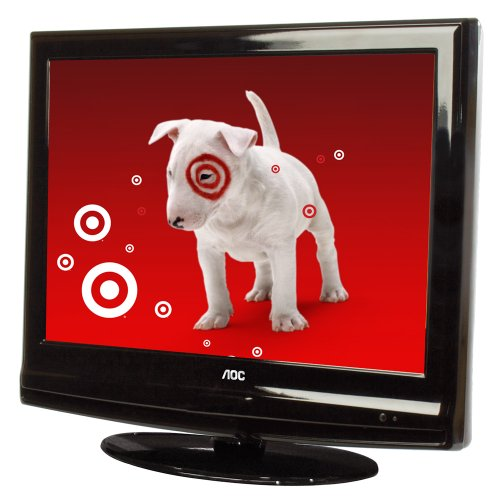 AOC LC19W060C 19-Inch LCD HDTV/DVD Combo, Glossy