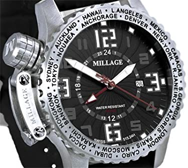 Millage Moscow Collection - BLK-BLK-SILICON