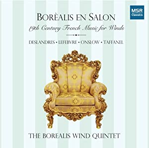 Borealis En Salon: 19th Century French Music for Winds