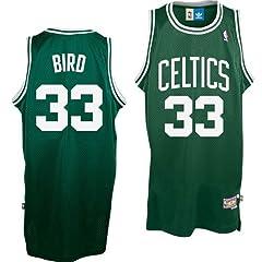 Adidas Boston Celtics Larry Bird Youth (Sizes 8-20) Soul Swingman Home Jersey by adidas