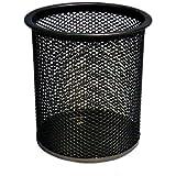 niceEshop(TM) Steel Mesh Pencil Cup-Black