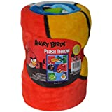 Angry Birds Plush Throw: 46 Inch x 60 Inch, Soft and Warm