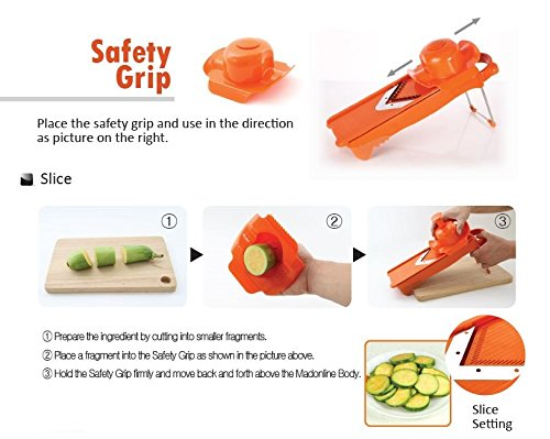 how to use a mandoline slicer cabbage