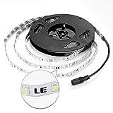 LE-164ft5m-Flexible-LED-Light-Strips-300-Units-SMD-3528-LEDs-12V-DC-Flexible-LED-Strip-Lights-Daylight-White-Non-waterproof-Lighting-Strips-LED-Tape-for-GardensHomesKitchenCarsBar