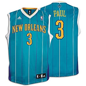 Adidas New Orleans Hornets Chris Paul Replica Road Jersey by adidas