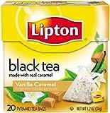 Lipton Pyramids, Vanilla Caramel 20 ct