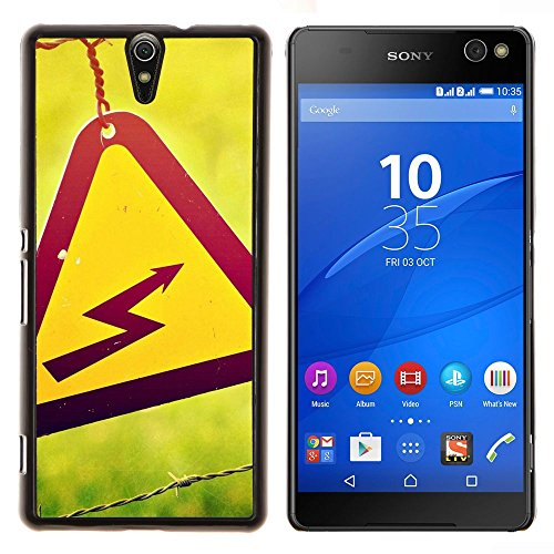 - Danger High Voltage For Sony Xperia C5 Ultra Copertura dura Snap On Cell Phone @ Cat Family