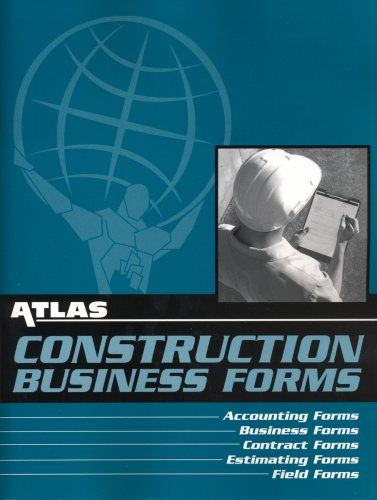 Atlas Construction Business Forms - Soft-cover - Atlas Publishing - 1933345012 - ISBN: 1933345012 - ISBN-13: 9781933345017