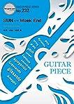 ギターピース232 SUN c/w Week End by 星野源 (ギター&ヴォーカル)