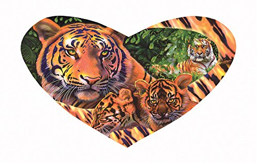 Tiger Love a 200-Piece Jigsaw Puzzle by Sunsout Inc.