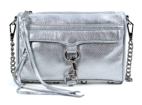 Ребекка Минкофф Mac Mini H001E001 мешок для тела,серебро,один…