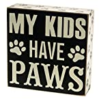 Paws Box Sign