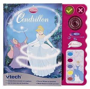 Vtech - 80-062685 - Jeu éducatif électronique - Magi Livre interactif Cendrillon - Format compact