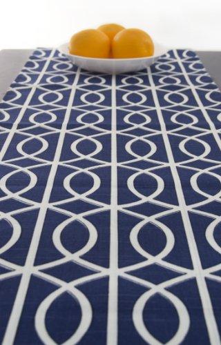 Blue Table Runner Blue 120 Inch ...