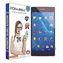 Cellbell Premium Tempered Glass Screen Protector for Sony Xperia Z2 (2.5D Curved Edges)(Clear)(Comes with Warranty)Complimentary Prep cloth-Bronze Edition