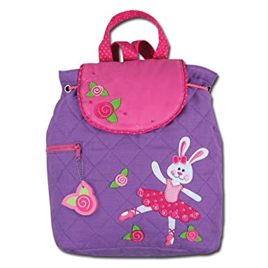Stephen Joseph Ballet Bunny Quilted Backpack