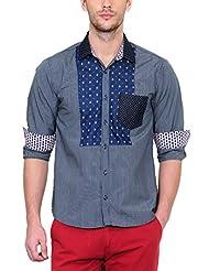 Yepme Men's Solid Cotton Shirt - YPMSHRT0448