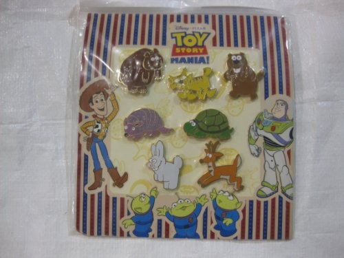 7 Piece Disney Pin Starter Set Baby Toy Story Animals 2008