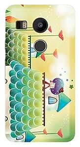 TrilMil Printed Designer Mobile Case Back Cover For LG Nexus 5X