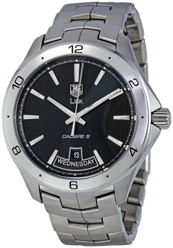TAG Heuer Men's WAT2010.BA0951 Link Black Dial Watch