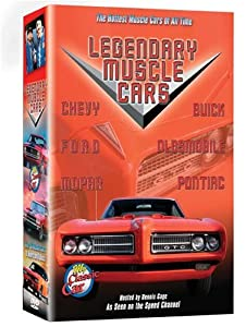 Legendary Muscle Cars (6 DVD's)