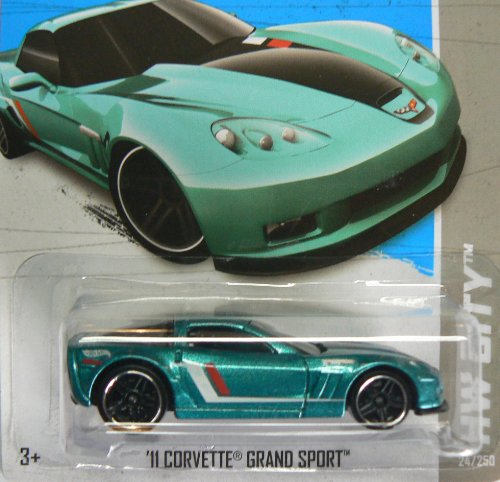 Hot Wheels Hw City '11 Corvette Grand Sport 24/250 - 1