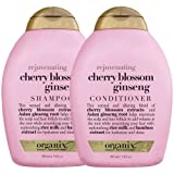 Organix Cherry Blossom Ginseng 380 ml Shampoo + 380 ml Conditioner (Rejuvenate) (Combo Deal)