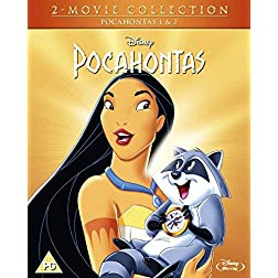 Pocahontas 1 & 2 Doublepack [Blu-ray]