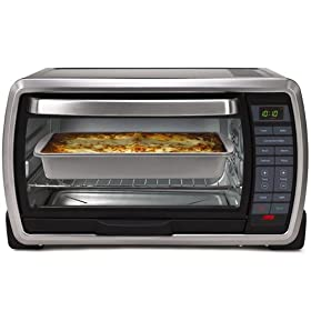 Oster TSSTTVMNDG Digital Large Capacity Toaster Oven, Stainless Steel