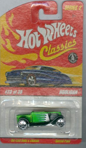 Hot Wheels Classics Series 2 23/30 Hooligan GREEN 1:64 Scale
