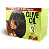 Organic Root Stimulator Olive Oil Built-In Protection No Lye Relaxer System