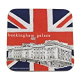 London Landmark Souvenir Coaster - Buckingham Palace
