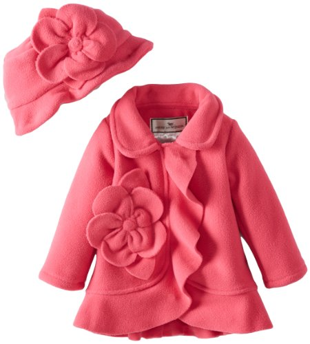 New Widgeon Baby-Girls Infant Flower Ruffle Coat