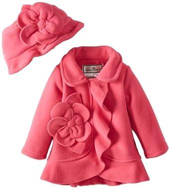 Amazon.com: Widgeon Baby Girls' Flower Ruffle Jacket