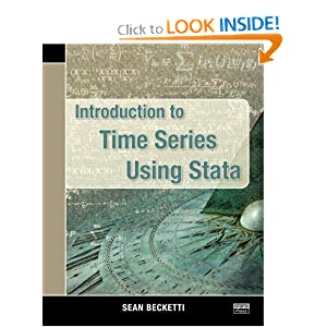 Introduction to Time Series using Stata book