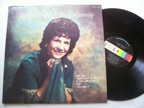 i've got yesterday (DECCA 75382- LP vinyl record)