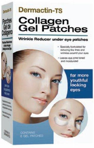 Dermactin-Ts Collagen Gel Patches, 6 Count