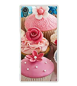 Tempting Cup Cakes 2D Hard Polycarbonate Designer Back Case Cover for Sony Xperia Z5 :: Sony Xperia Z5 Dual