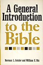 A General Introduction to the Bible by…