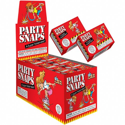 Party Snaps, a Super Noisemaker, 50 Boxes