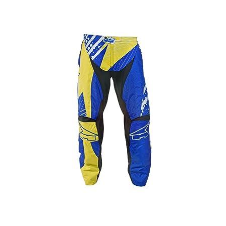 AXO MX3T0052-YB Grunge Pantalon de Motocross