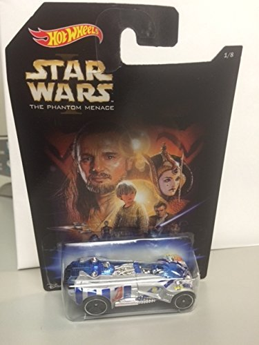 Hot wheels Star wars the phantom Menace 1/8 GEARONIMO rare disney