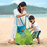 sand away Carry All Beach Mesh Bag Tote (Swim, Toys, Boating. Etc.)-xl size