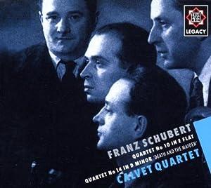 Quartet No. 14 D810, Quartet No. 10 D87 (Calvet Quartet)