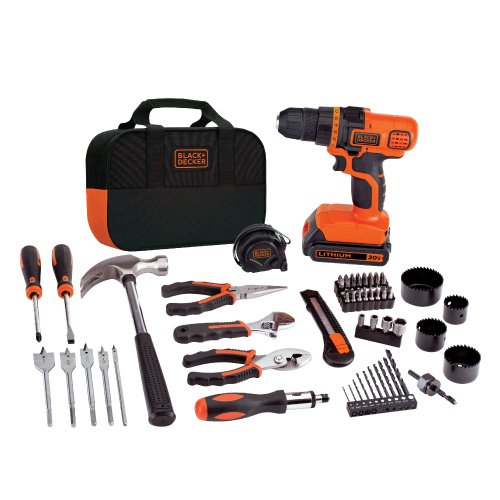 블랙앤데커 LDX120PK 20V 드릴 앤 프로젝트 키트 Black & Decker LDX120PK 20-Volt MAX Lithium-Ion Drill and Project Kit