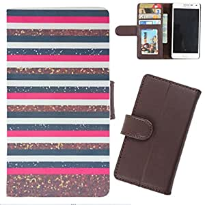 DooDa - For Karbonn A9+ PU Leather Designer Fashionable Fancy Wallet Flip Case Cover Pouch With Card, ID & Cash Slots And Smooth Inner Velvet With Strong Magnetic Lock